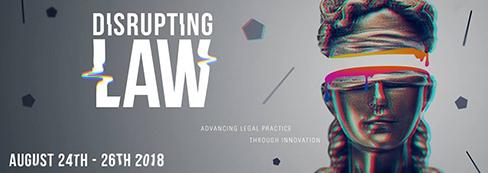 UWA Disrupting Law Poster.