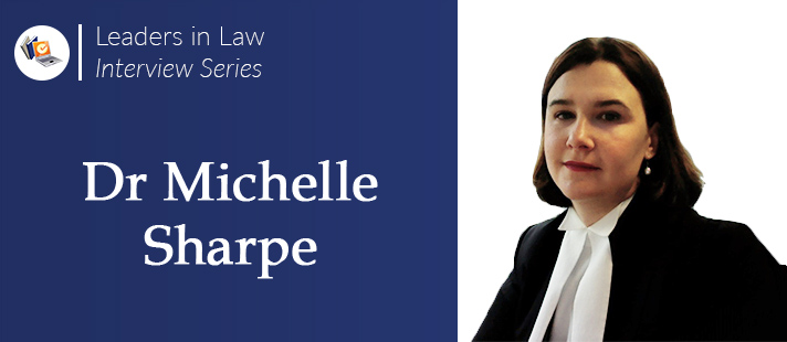 Leader in Law - Michelle Sharpe Interview