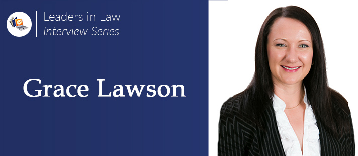 LawCPD Leaders in Law Interview Series: Grace Lawson
