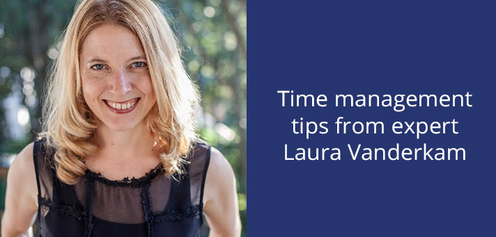 Laura Vanderkam gives time management tips for lawyers