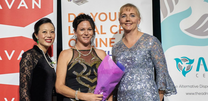 Haley Allan from the Legal Aid Commission of Western Australia (West Kimberley Office was awarded Woman Lawyer of the Year 2018