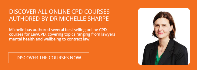 Discover Michelle Sharpe Courses for LawCPD