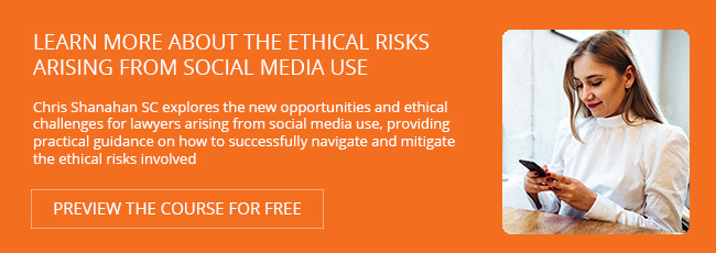 View Course: Virtue and the Virtual Introduction to legal ethics and social media