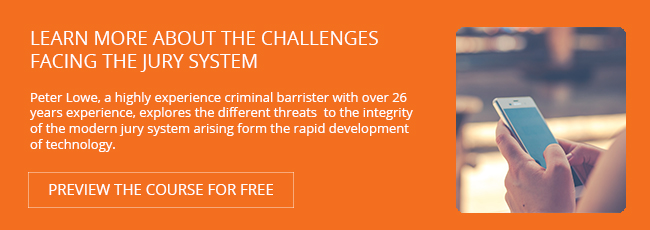Learn more about the challenges facing the jury system